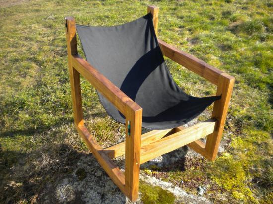 fauteuil en noyer