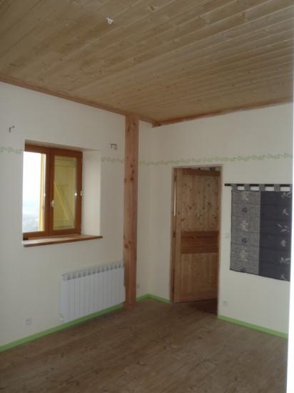 faux plafond sur poteau-poutre