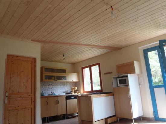 faux plafond isolé